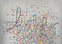 Funfetti Birthday Cards